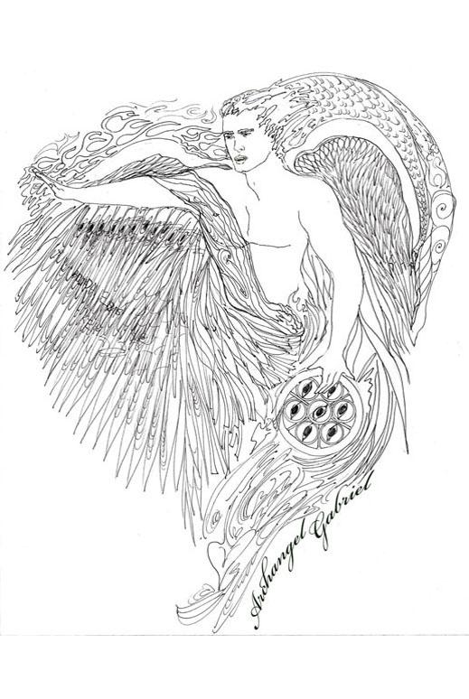 Archangel Gabriel;Spiritual Surf Wear